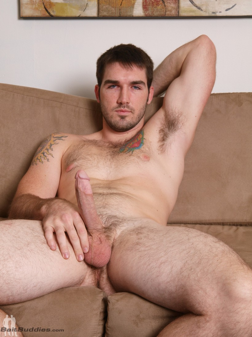 naked Tim Campbell sexy straight stud brad cambell gets nude at bait buddies
